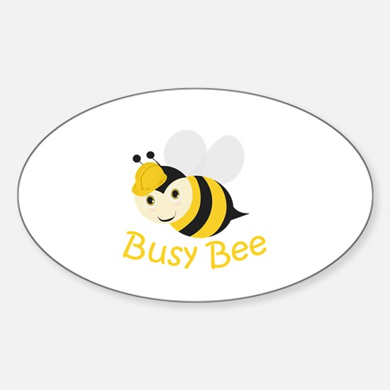 Busy Bee Decal