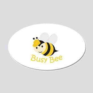 Busy Bee Wall Decal