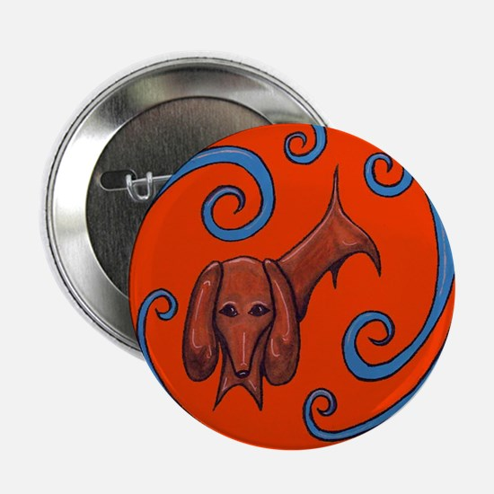 Doxie the Dachshund - Red Button
