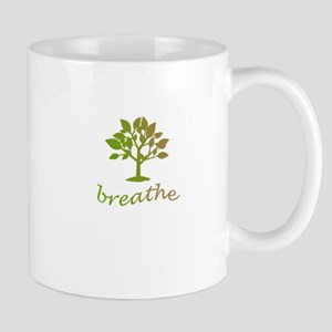 Breathe tree design Mug