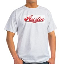 Austin TX Ash Grey T-Shirt