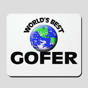 World's Best Gofer Mousepad