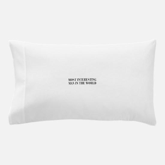 most-interesting-MAN-bod-dark-gray Pillow Case