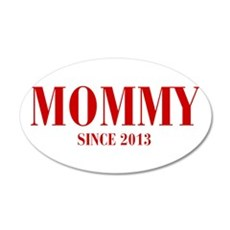 mommy-since-2013-BOD-BURG Wall Decal
