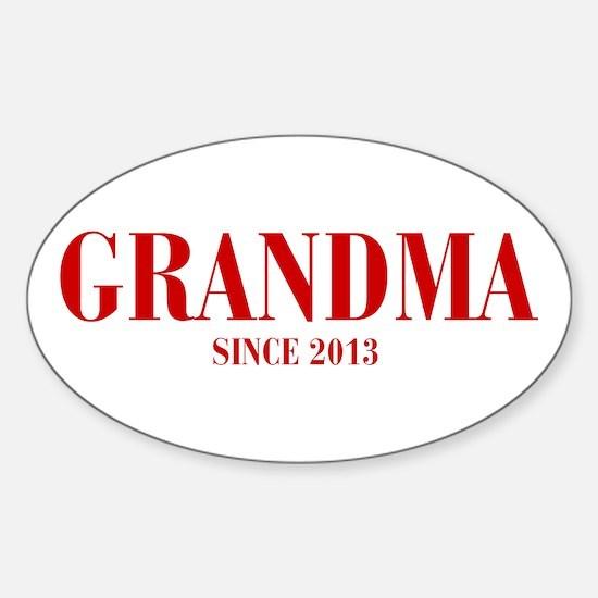 GRANDMA-since-2013-BOD-BURG Decal