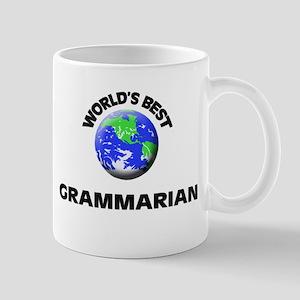 World's Best Grammarian Mug
