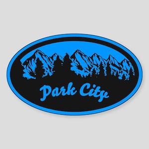 Park City Sticker (Oval)