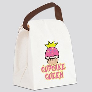 Cupcake Queen Canvas Lunch Bag