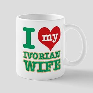I love my Ivorian wife Mug
