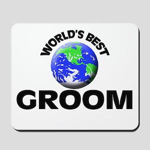 World's Best Groom Mousepad