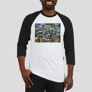 Central Park collage Baseball Jersey