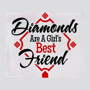 Diamonds BR Throw Blanket