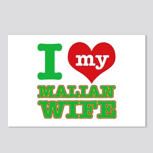 I love my Malian wife Postcards (Package of 8)