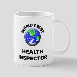 World's Best Health Inspector Mug