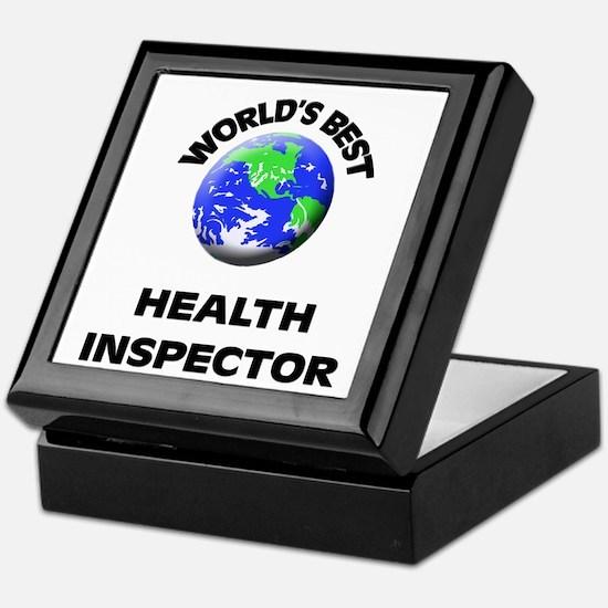 World's Best Health Inspector Keepsake Box