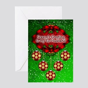 Ex-Husband Christmas Greeting Card