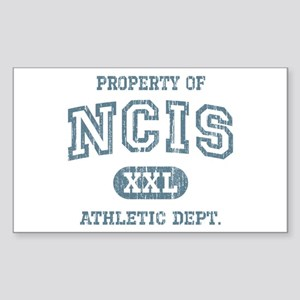 Vintage Property of NCIS Sticker (Rectangle)