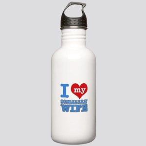 I love my Somalian wife Stainless Water Bottle 1.0