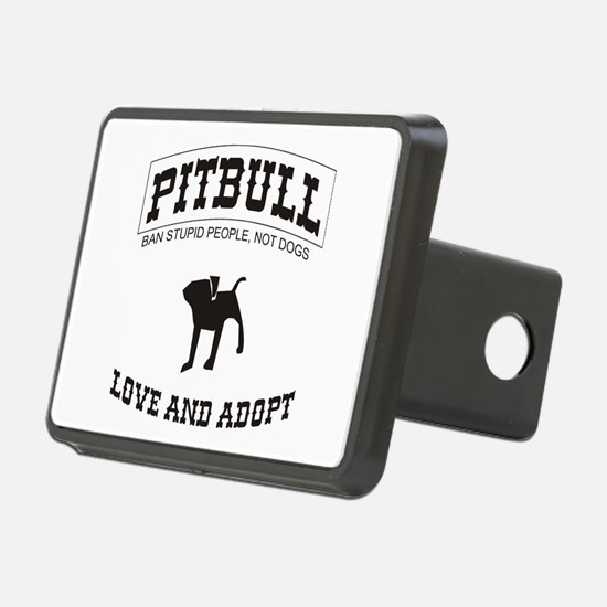 Pitbull pup Hitch Cover