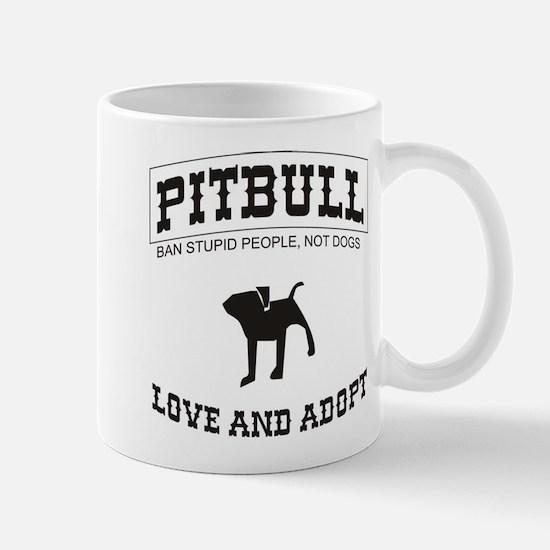 Pitbull pup Mug