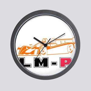 LM-P Logo Wall Clock