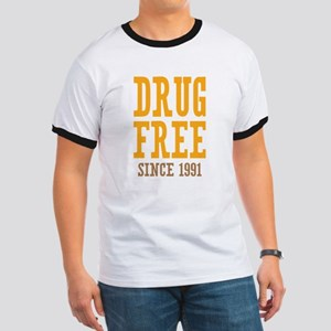 Drug Free Since 1991 Ringer T