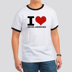 Funny awesome designs Ringer T
