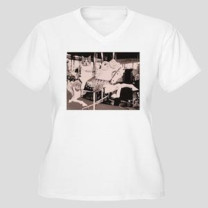 Merry go cat Plus Size T-Shirt
