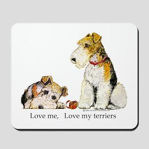 Love my TERRIERS! Mousepad