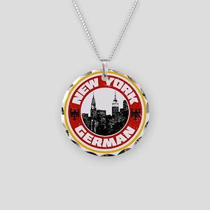 New York German American Necklace