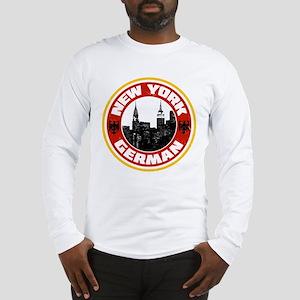 New York German American Long Sleeve T-Shirt
