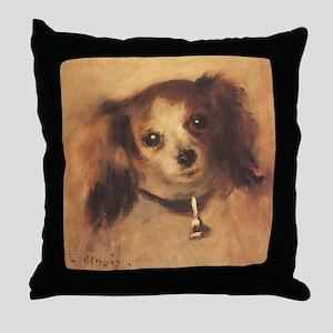 Head of a Dog by Renoir, Vintage Impressionism Thr