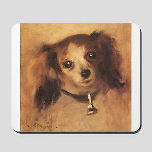 Head of a Dog by Renoir, Vintage Impressionism Mou