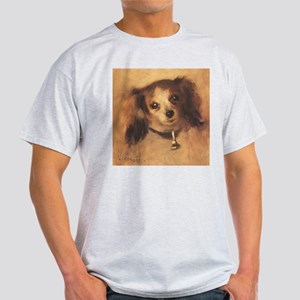 Head of a Dog by Renoir, Vintage Impressionism T-S