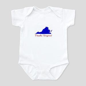 Thanks Virginia! Infant Bodysuit