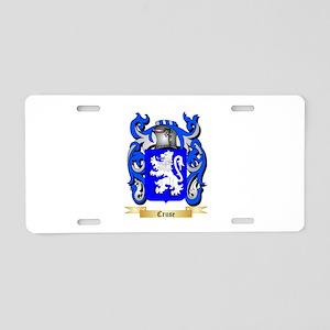 Cruse Aluminum License Plate