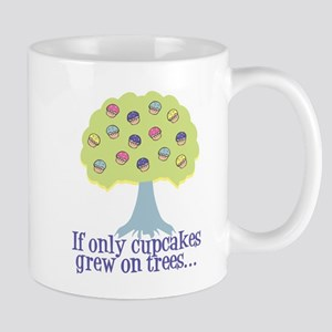 If only Cupcakes on Trees Mug