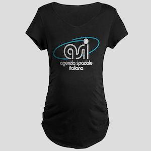 ASI - Italian Space Agency Maternity Dark T-Shirt