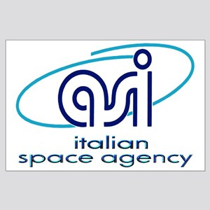 ASI - Italian Space Agency Large Poster