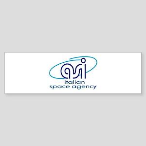 Italian Space Agency Bumper Sticker