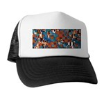 Klimtified! - Rust/Turquoise Trucker Hat