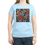 Klimtified! - Rust/Turquoise Women's Light T-Shirt