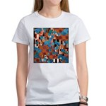 Klimtified! - Rust/Turquoise Women's T-Shirt