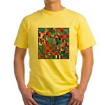 Klimtified! - Rust/Turquoise Yellow T-Shirt