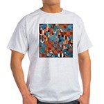 Klimtified! - Rust/Turquoise Light T-Shirt
