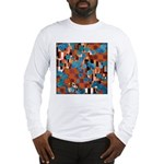 Klimtified! - Rust/Turquoise Long Sleeve T-Shirt