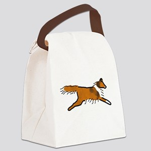 Sable Sheltie Canvas Lunch Bag