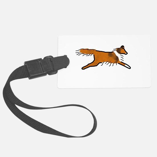 Sable Sheltie Luggage Tag