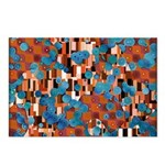 Klimtified! - Rust/Turquoise Postcards (Package of