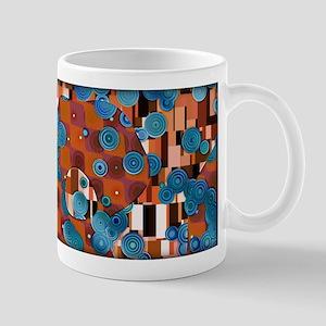 Klimtified! - Rust/Turquoise Mug